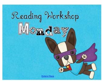 Reading Workshop Super Heroes
