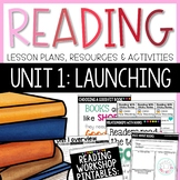 Reading Workshop Unit 1- Launching
