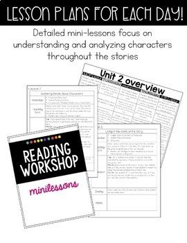 Reading Workshop Unit 2- Fiction