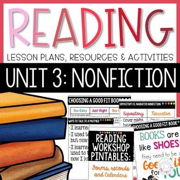 Reading Workshop Unit 3- Nonfiction