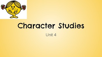 Reading Workshop UoS Character Unit 3