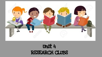 Reading Workshop UoS Unit 4 Research Clubs