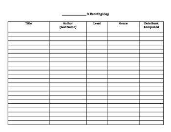 Reading Workshop Worksheets