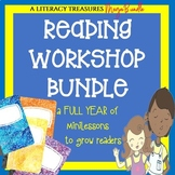 Reading Workshop Bundle--a FULL YEAR of minilessons for de