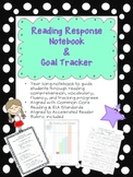 Reading Response Notebook and Goal Tracker