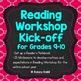 Reading Workshop and Writing Workshop Kick-off Bundle for Grades 9-10