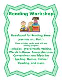 Reading Street Workshop 2nd Grade Unit 2