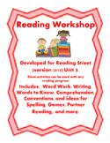 Reading Street Workshop 2nd Grade Unit 3