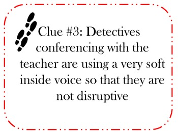 Reading Workshop or Daily Five Detective