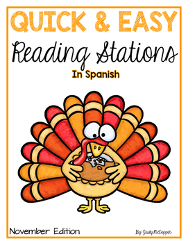 Reading Workstations for First Graders *November Edition*