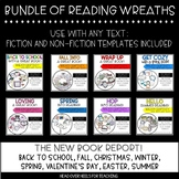 Reading Wreath Craftivities Bundle {Use with any fiction or non-fiction text}