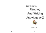 Reading & Writing Activities Part 2 - Easy to Learn Series