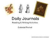 Reading & Writing Activities: The Colonial Period