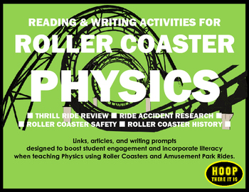 Reading & Writing Activities for Roller Coaster Physics