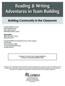 Reading & Writing Adventures in Team Building