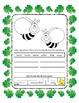 Reading & Writing ~ Bees ~ One Work Sheet ~ Many Seasons / Holidays