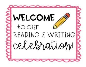 Reading & Writing Celebration Projection
