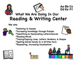 Reading & Writing Center