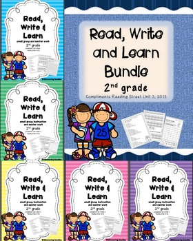Reading, Writing, Centers and Small Group Instruction Bund