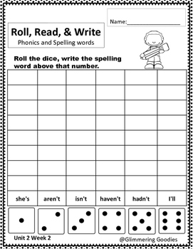 Reading, Writing, Centers and Small Group Instruction  Unit 2 Week 2