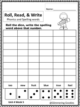 Reading, Writing, Centers and Small Group Instruction  Unit 4 Week 5