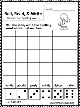 Reading, Writing, Centers and Small Group Instruction  Unit 5 Week 1