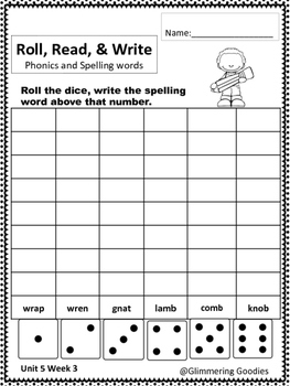 Reading, Writing, Centers and Small Group Instruction  Unit 5 Week 3