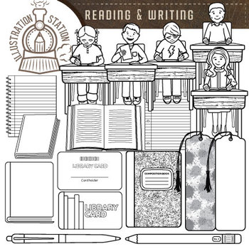Reading and Writing Clip Art