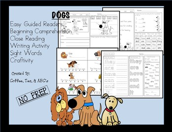 Reading, Writing, Comprehension Mini-Unit...Dogs
