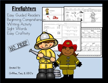 Reading, Writing, Comprehension Mini-Unit...Firefighters