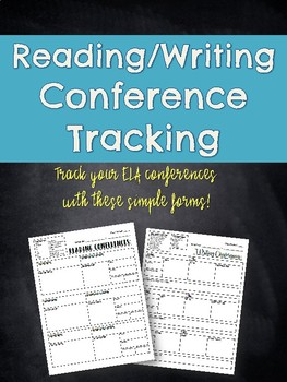 Reading/Writing Conference Trackers