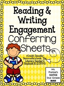 Reading Engagement Conferring Forms