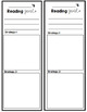 Classroom Goal Bookmarks including Reading & Writing