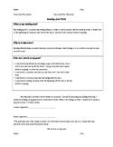 Reading & Writing Goals