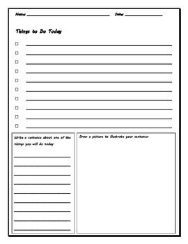 Reading & Writing Graphic Organizers & Activities