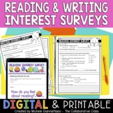 Reading & Writing Interest Survey | Distance Learning