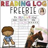 Reading & Writing Log