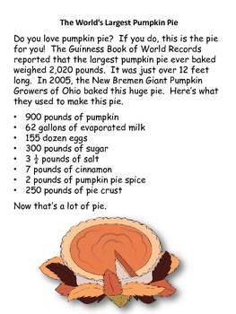 Reading, Writing, Math Thanksgiving Dinner Theme