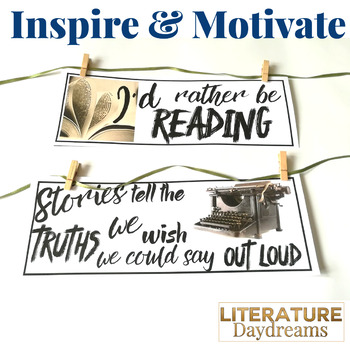 Reading & Writing Motivational Quotes