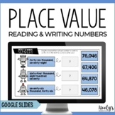Place Value Activities Using Google Slides