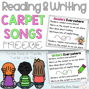 Reading & Writing Poem/Song {FREEBIE}