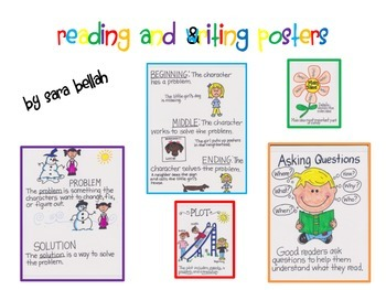 Reading & Writing Posters