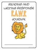 Jungle RAWR Reading And Writing Response Journal