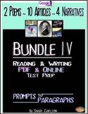 SBAC Test Prep BUNDLE lV ~ 16 ONLINE & PDF Texts