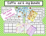 """Reading & Writing Suffix """"ed"""" and """"ing"""" Bundle"""