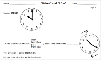 Reading, Writing, Telling Time and Elapsed Time with Clocks