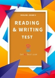 Reading & Writing Test