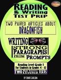 "SBAC Test Prep ~ 2 Texts about ""DRAGONFISH"" & ""ADAPTING"""