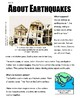 SBAC Online READING & WRITING Test Prep ~ 2 Articles PAIRED About Earthquakes