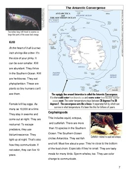 "SBAC Reading & Writing Test Prep & Guide 2 Articles PAIRED~""ANTARCTICA"" & MANTA~"